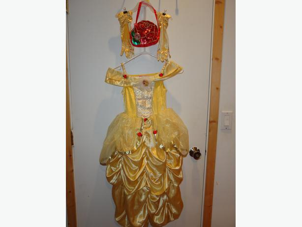 Beautiful Belle Costume, size 6/8