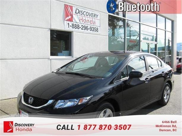 2015 Honda Civic Sedan Sedan LX CVT  - Bluetooth -  C