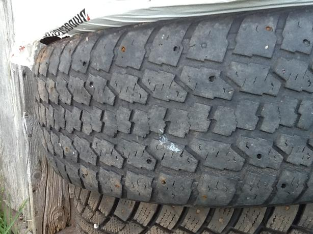 "4 Studded 235-65-16"" Winter Tires For Sale"