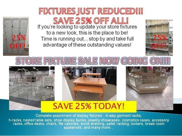 MAJOR DEPT. STORE CLOSING- SELECT LOCATIONS ONLY!
