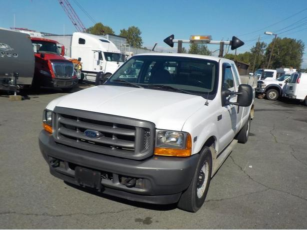 2001 Ford F-250 Sd 2wd XL SuperCab Long Bed With Dump Box