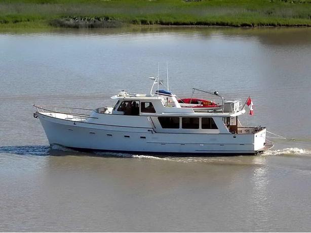 Ocean Alexander Mark 1 Motor Yacht For Sale - Misty Moon