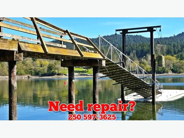 Dock repairs and maintenance