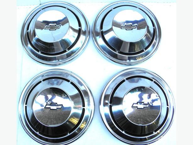 1968 69 70 Chevy Chevelle Camaro Nova Impala Hubcaps Dog Dish