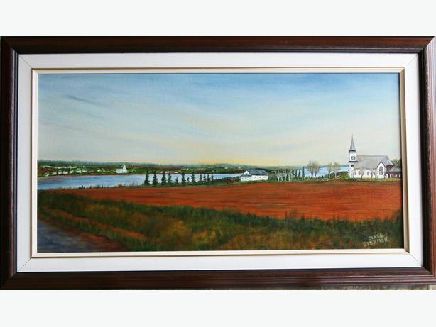 Oil Painting St. Peters PEI