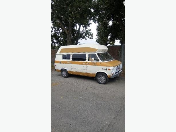 1977 Chev Camper Van