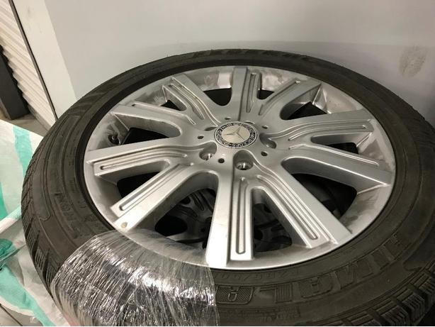 Winter Tires 255 50R19 and Mercedes Rims