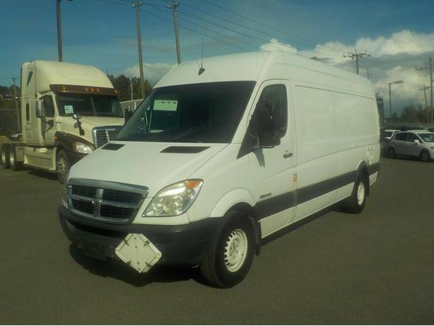 2008 Dodge Sprinter High Roof Diesel 2500 170-in. WB Cargo Van with Rear Shelvin