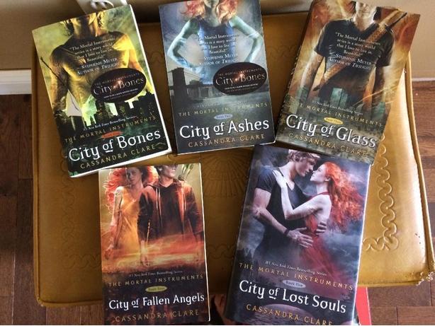 Mortal Instruments full book series
