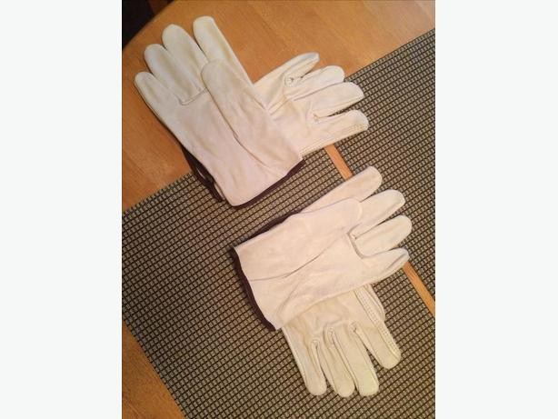 New 2 pairs of genuine cowhide gloves