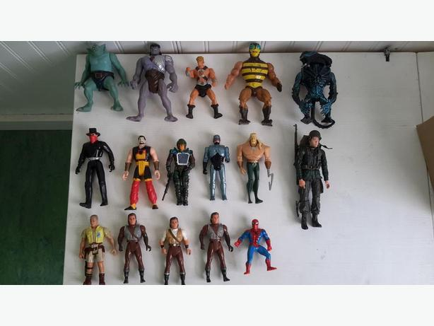 90s mix and more action figures