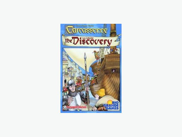 Carcassonne Gold Rush & Carcassonne the discovery