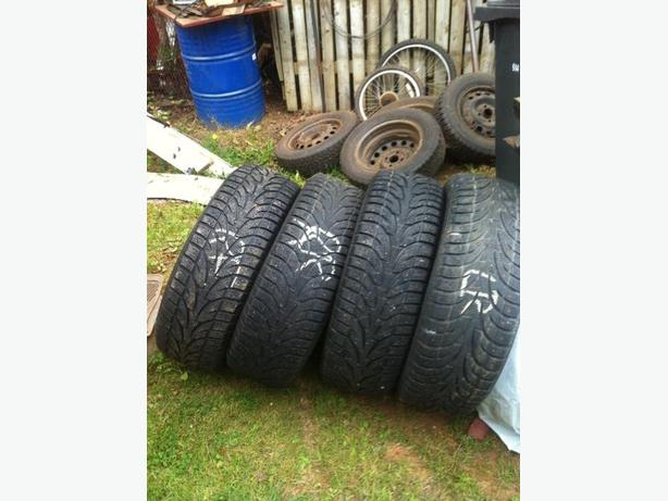 235/70/R16 STUDDED WINTER TIRES
