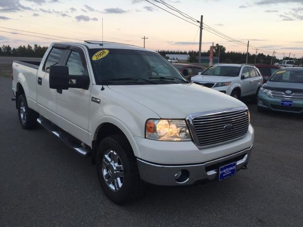 2008 Ford F-150 Lariat 4WD SuperCrew