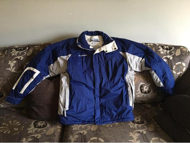 mens M columbia winter jacket