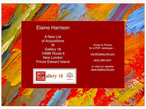 Elaine Harrison Works @ Gallery 18