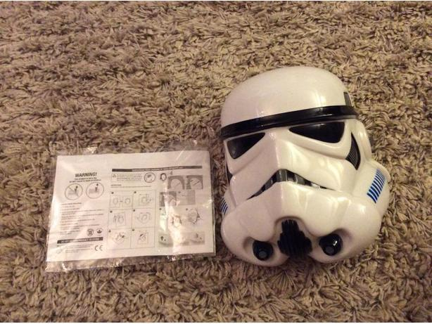 3D storm trooper hanging night light