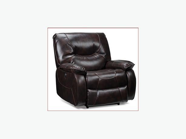 Power Recliner Chair - Dark Brown - Mint Condition $499