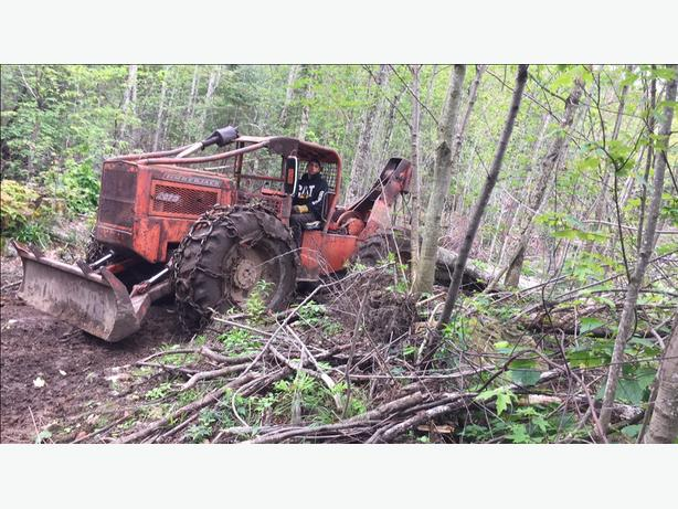 Selling my timber jack skidder