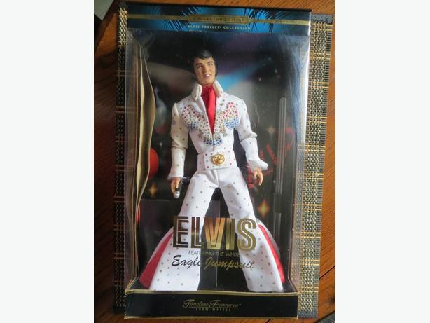 Elvis Presley Eagle Jumpsuit Doll