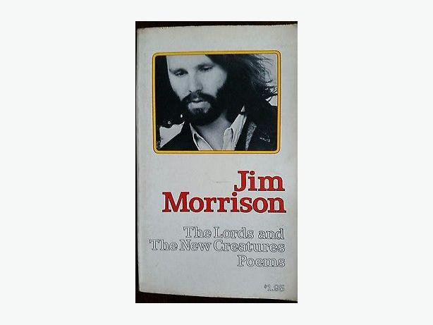 Jim Morrison's first paperback edition 1971 poetry book