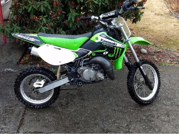 2002 Kawasaki kx 65