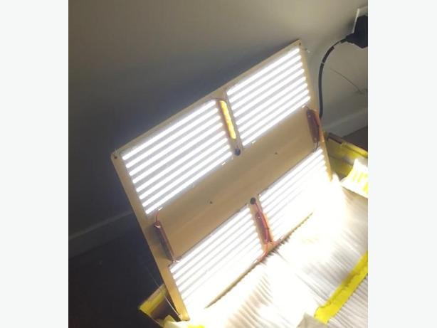 cannaboard 450 watt led growlight 1000 watt hps replacement