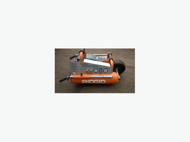 Air Compressor-Ridgid mobil, 5Gal, 4.4 SCFM@90psi,excellent