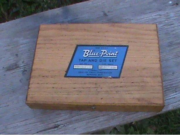 SNAP ON /BLUE POINT TAP AND DIE SET