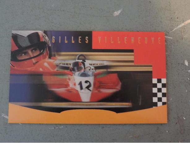 Gilles Villeneuve Stamps