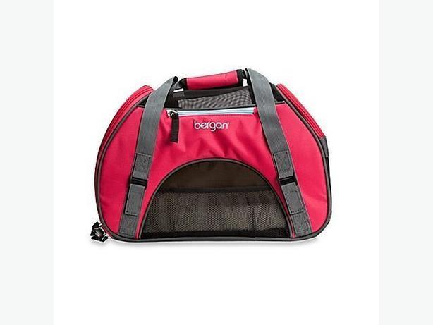 pet carrier tote bag , portable travel kennel handbag ,