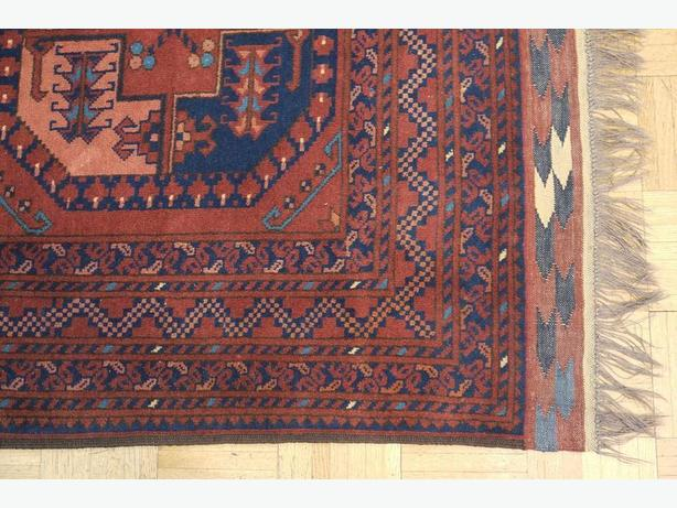 18053-Khal Mohammad Hand-Knotted/Handmade Afghan Rug/Carpet Tribal