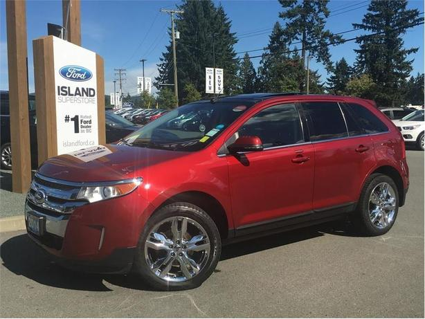 2014 Ford Edge Limited, Sunroof, Nav, AWD