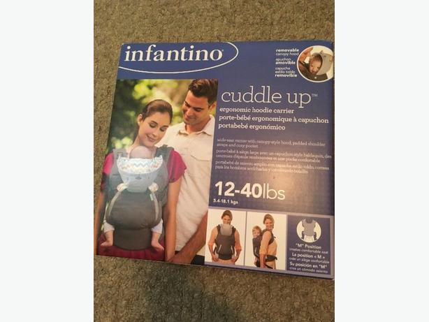 173ec6bbca5 Ergonomic hoodie carrier  cuddle up by Infantino Victoria City