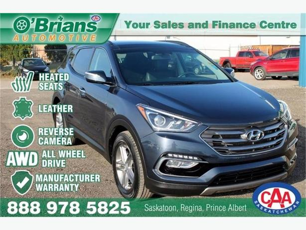 2018 Hyundai Santa Fe Sport SE w/Mfg Warranty, Leather