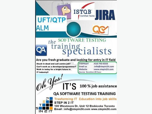 Software Testing Training Program Brampton,Mississauga Toronto,Canada