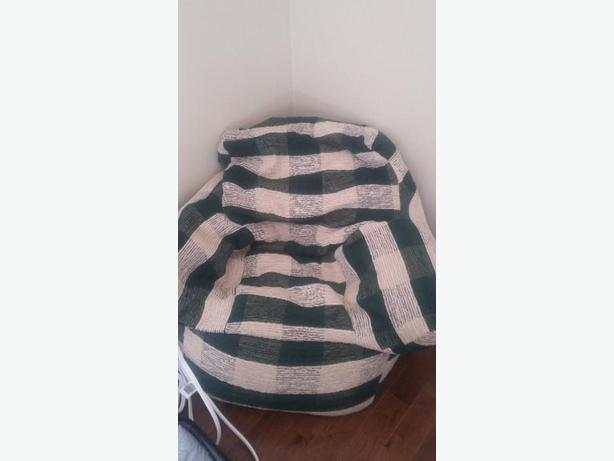 Handmade Adult Size Bean Bag Chair