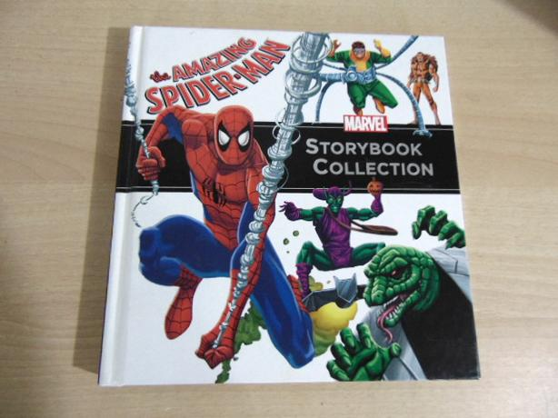 Marvel Storybook Collection Large Hard Covered Book