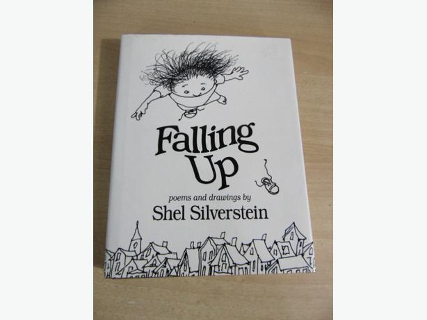 Shel Silverstein Falling Up Poems and Drawings Hardcovered Book