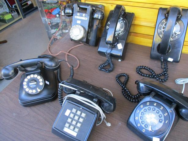 POST WAR TELEPHONES FROM ESTATE