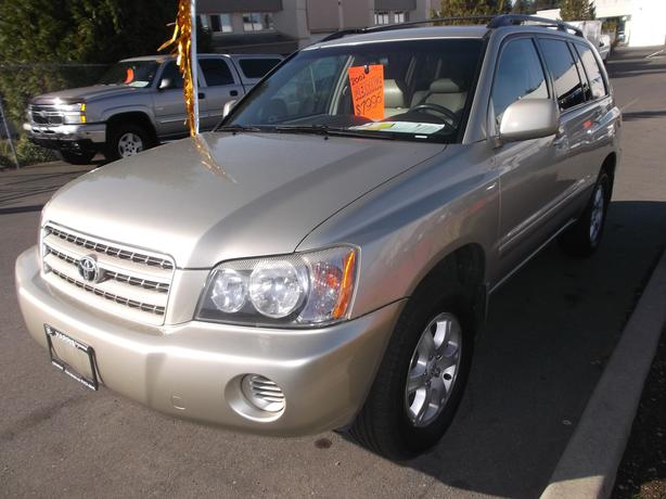 2002 TOYOTA HIGHLANDER LIMITED FOR SALE