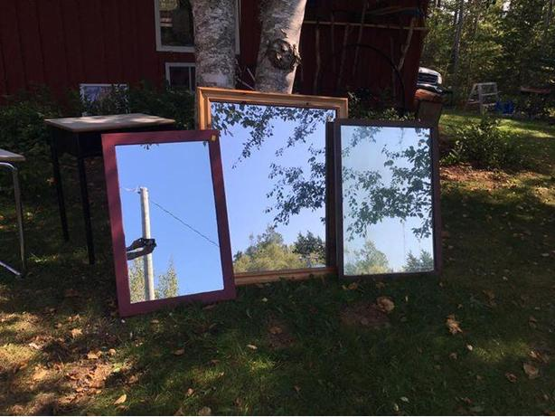 3 mirrors-  $ 50 for all 3 or $ 20 each