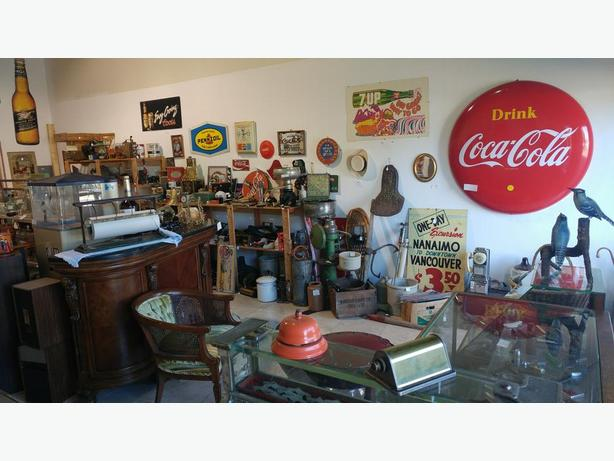 Vancouver Island's newest Antique & Collectibales store