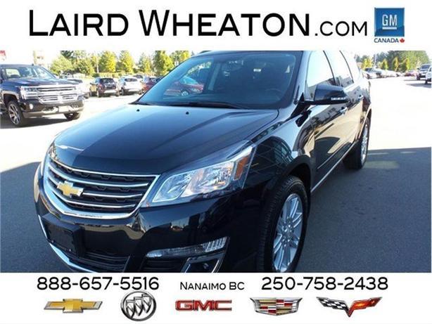 2014 Chevrolet Traverse LT All Wheel Drive, Clean 8 Passenger
