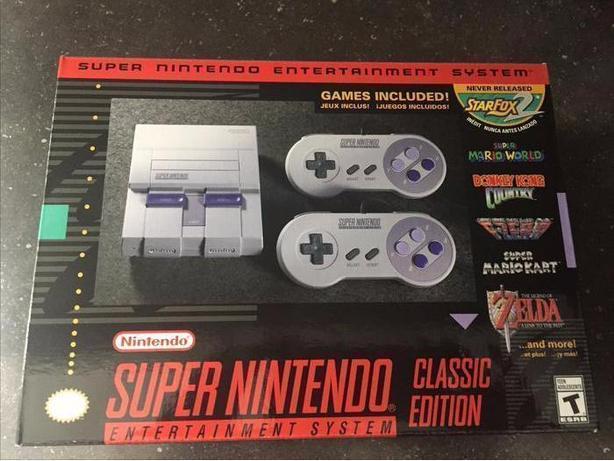 Super Nintendo Classic Edition *Brand New*