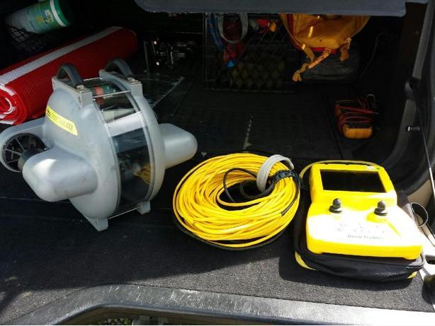 Deep Trekker DTG2 ROV underwater remote operated vehicle