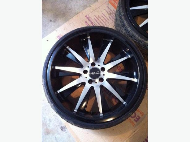 20 inch Helo wheels