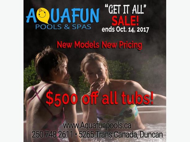 Get it All Hot Tub Sale