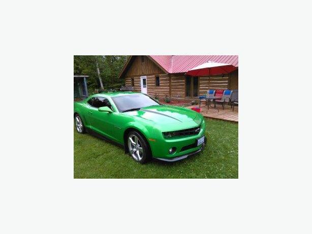 green camaro 2011