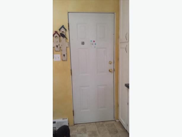 FREE 32x80 exterior door & frame Lantzville, Nanaimo